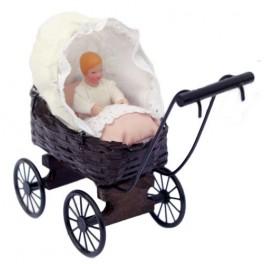 Landau avec bébé