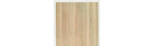 Real wood flooring sheet