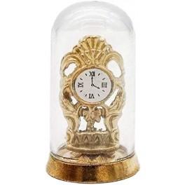 Horloge sous globe