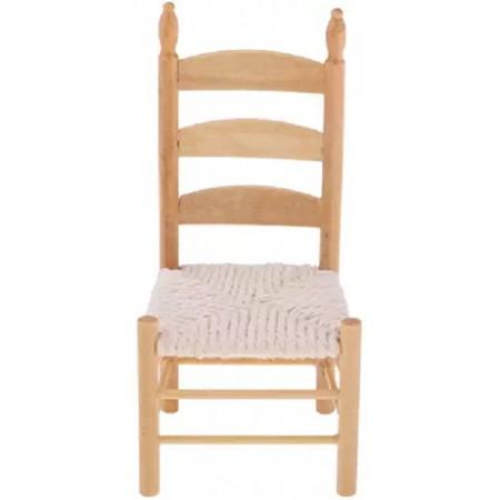 Chaise assise cordée