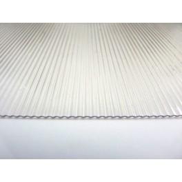 Corrugated Vivak Clear
