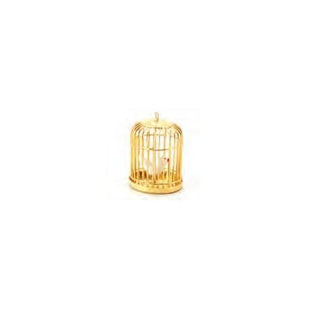 Brass Birdcage & Bird