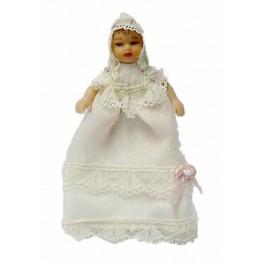 Bébé robe de baptême