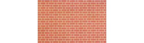Papiers briques et tuiles